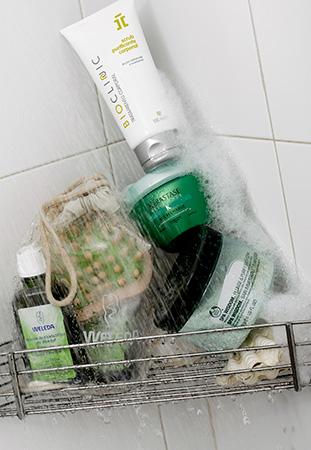 Fotografía de productos de ducha Spa